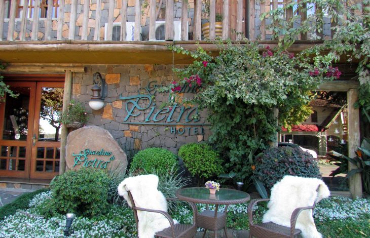 Hospedagem em Gramado: Pousada Giardino Di Pietra