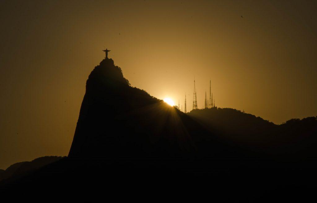 Rio-de-janeiro-por-do-sol
