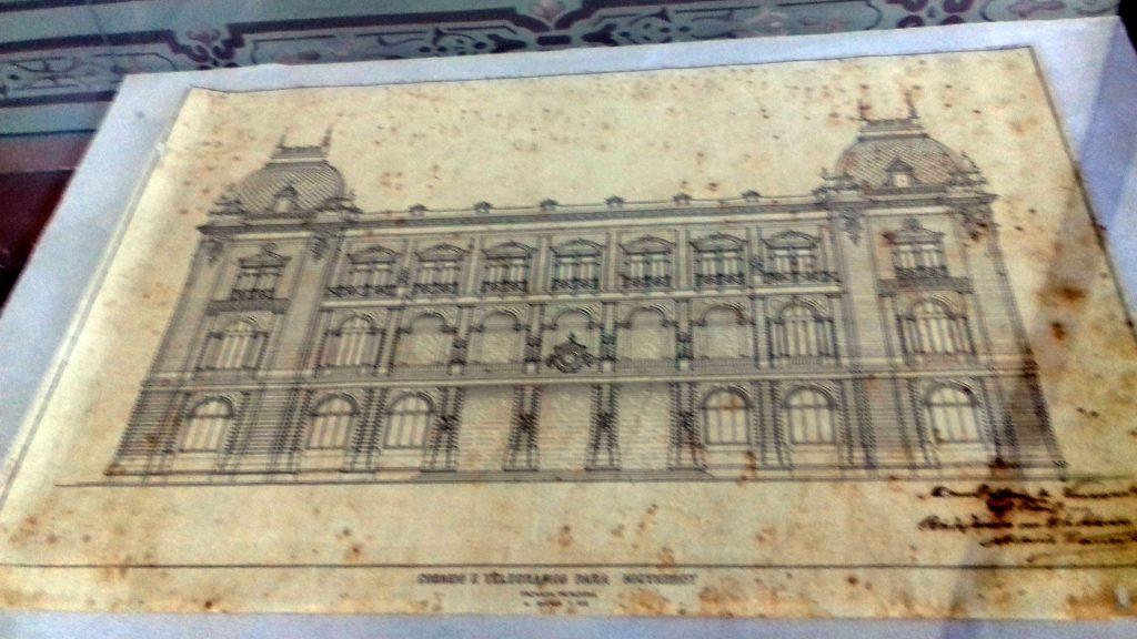Planta-Palácio-dos-Correios-1910.