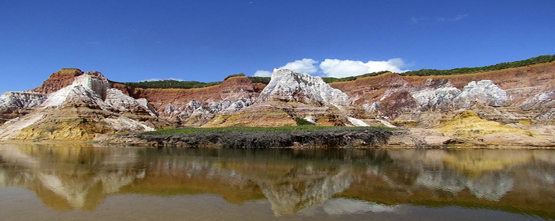 Falésias-Praia-do-Gunga-Alagoas