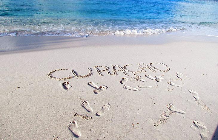 Curaçao-areia-praia