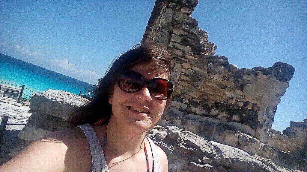 Cancun-ruína