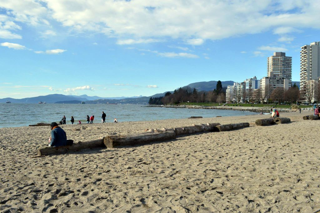 Vancouver-Praia-de-English-Bay