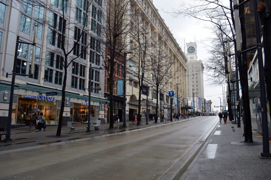 Vancouver-Granville-Street