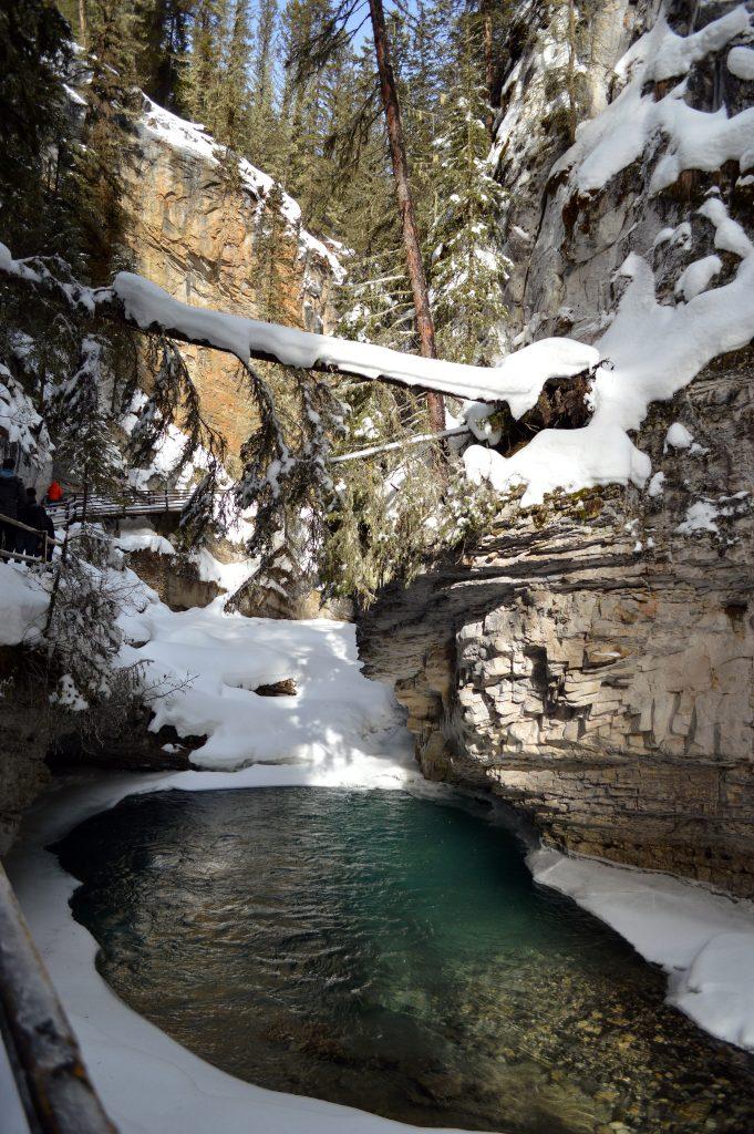 Canadá-lago-congelado